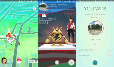 Pokemon Go Battle Gym Guide