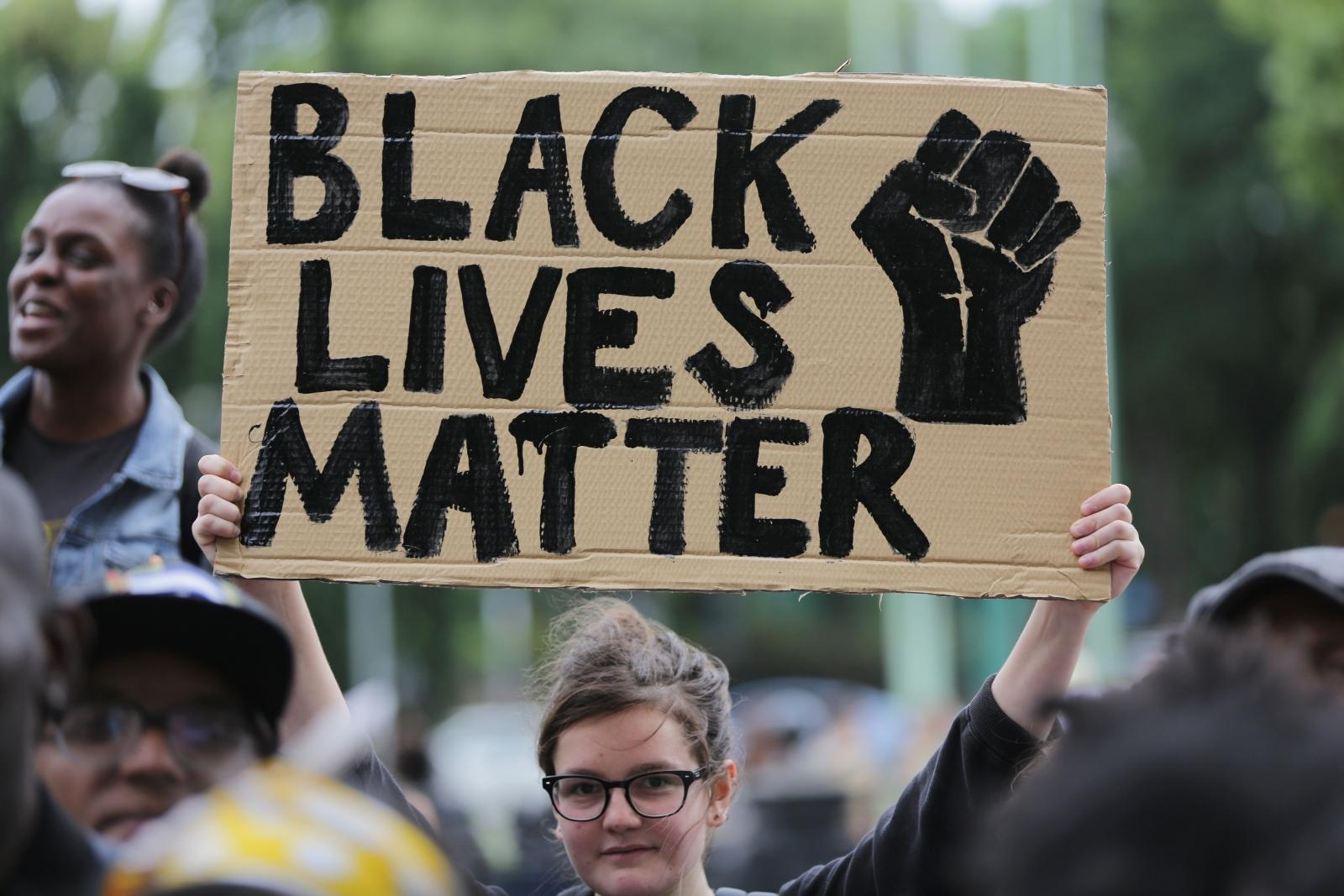 Black lives matter protest london