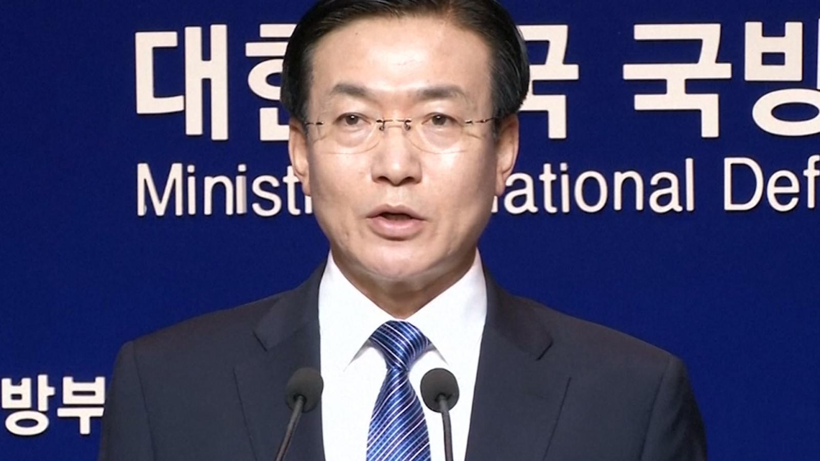 South Korean Defence Ministry Spokesman, Moon Sang-Gyun