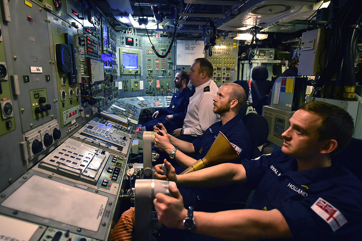 Life Onboard A Trident Submarine As Parliament Prepares To