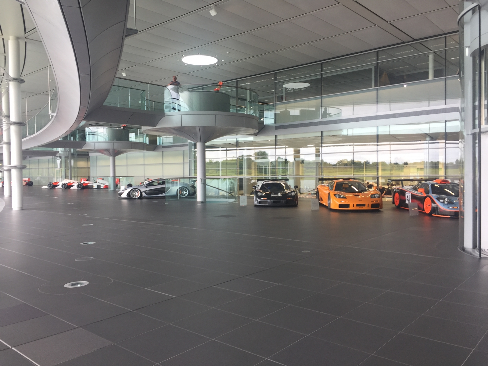 inside mclaren technology centre where f1 racers and supercars are born