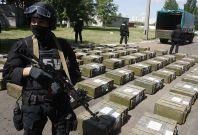 Ukrainian police cocaine