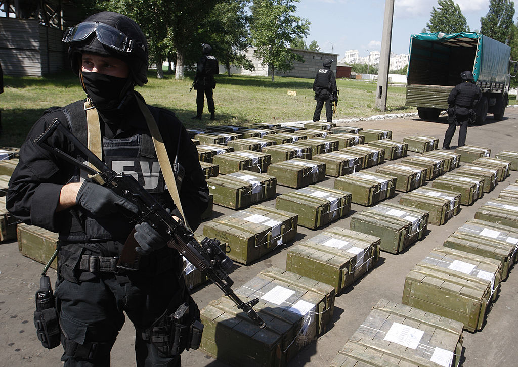 Ukrainian police cocaine