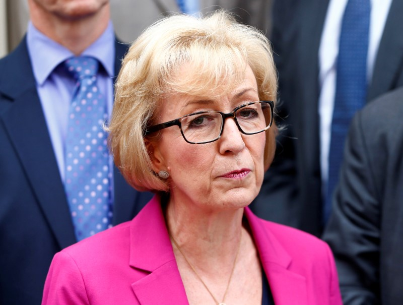 Andrea Leadsom quits election race