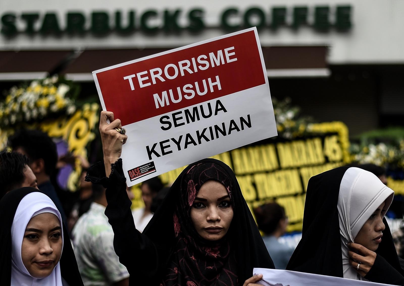 Indonesia protest