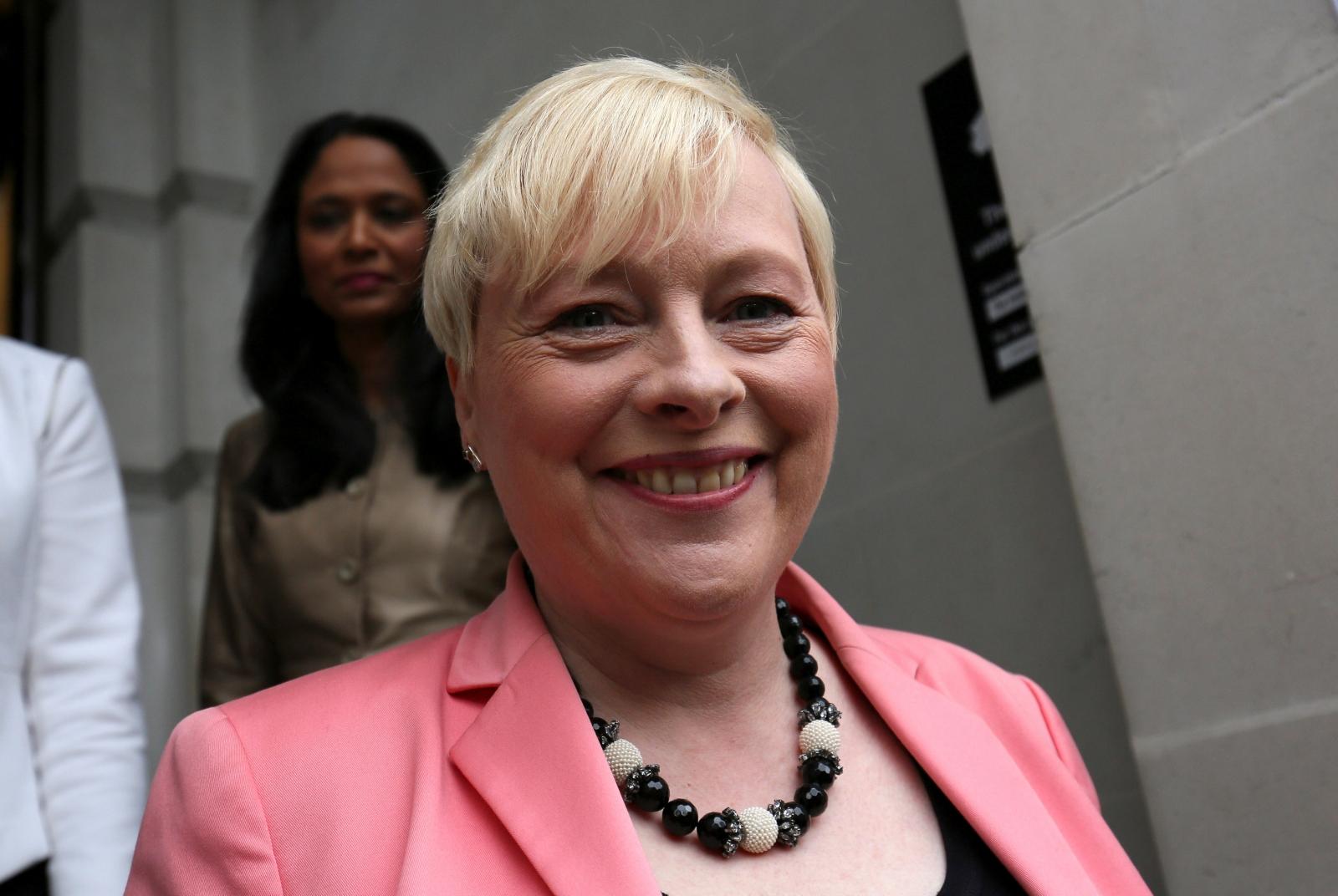 Angela Eagle launches leadership bid