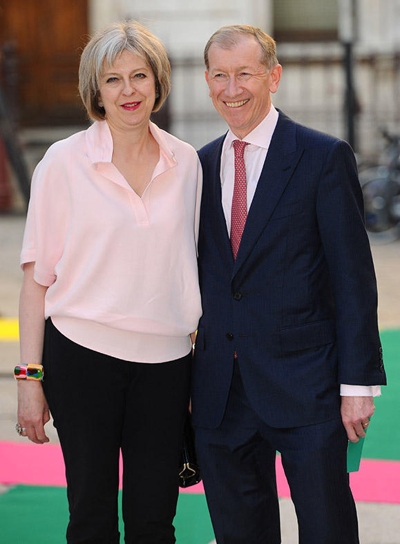 Theresa May husband