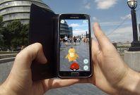 Pokemon Go demo in London