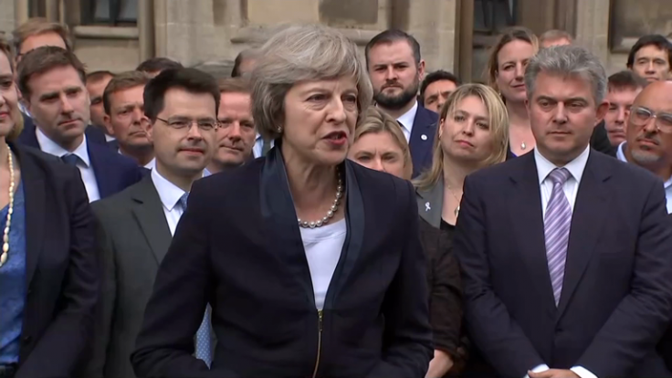 Theresa May: 'Brexit means Brexit'