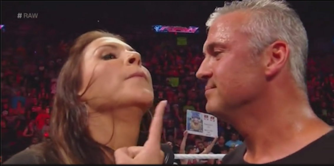 Stephanie McMahon and Shane McMahon