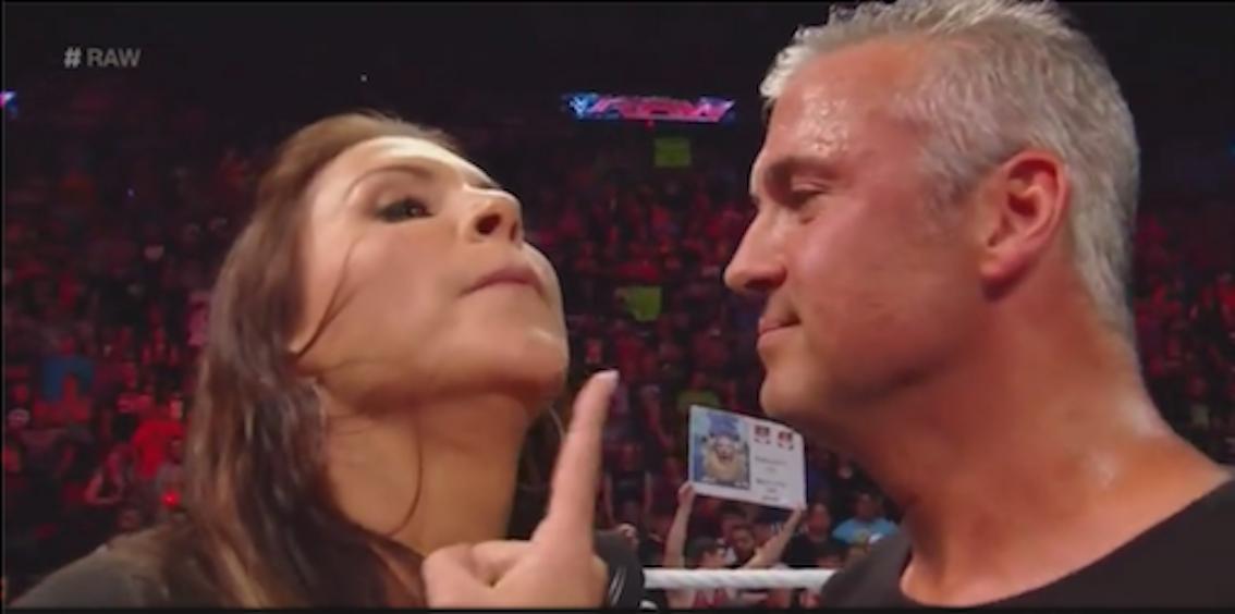 Stephanie McMahon and Shane McMahon