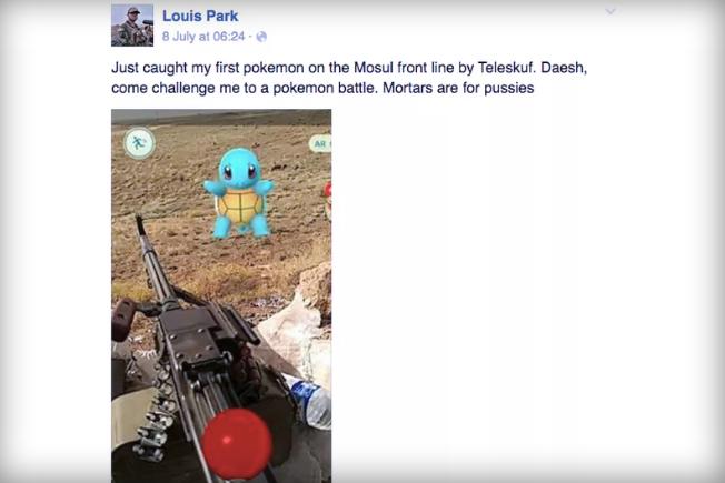 Pokemon Go US Soldier Iraq