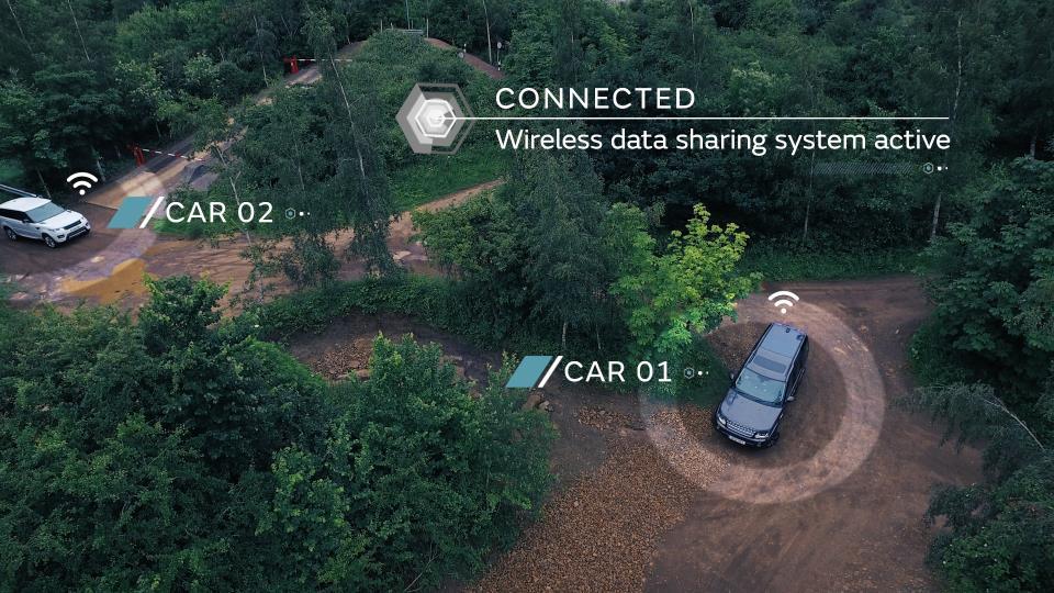 Jaguar Land Rover autonomous off-roading