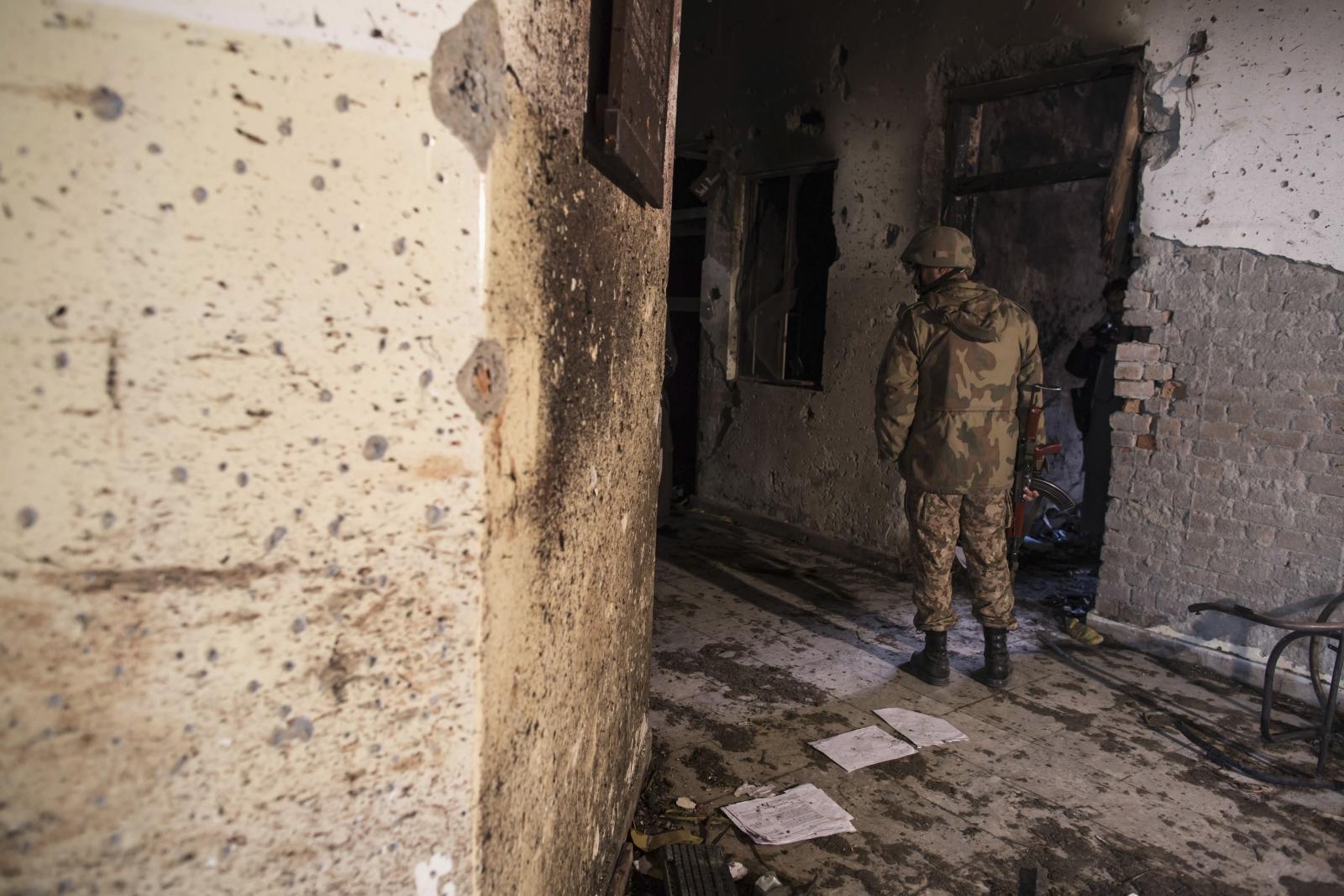 The Army public school attack
