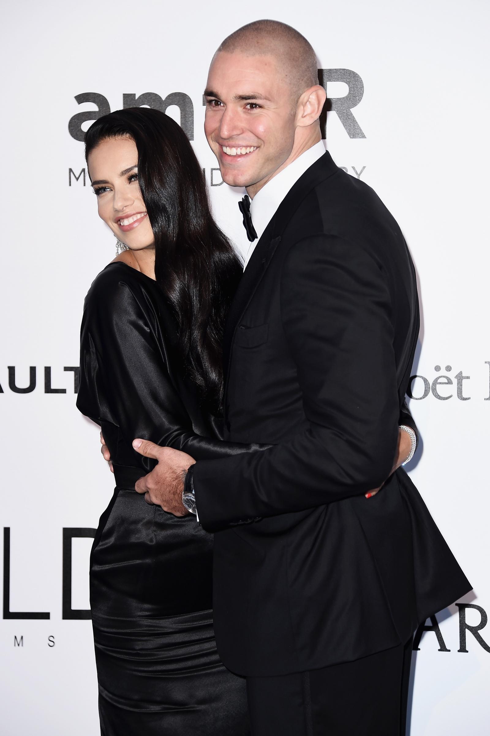 Adriana Lima and Joe Thomas