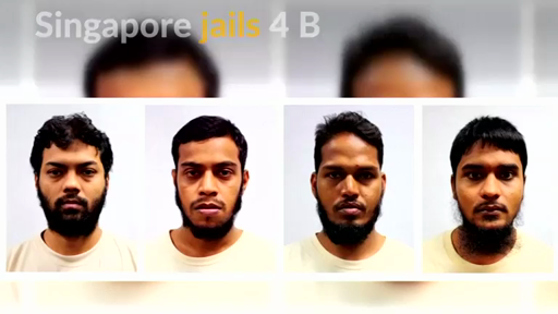 Singapore court sentences 4 Bangladeshi workers for funding terror