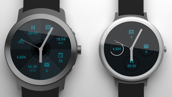 Google smartwatch renders