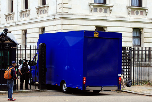 Downing Street removal