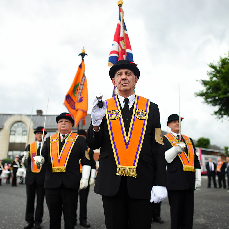 Northern Ireland Orange Order march
