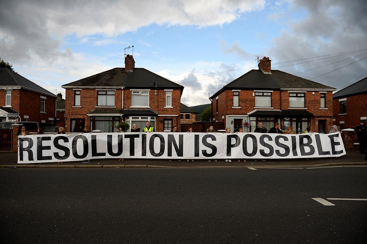 Northern Ireland Orange Order march