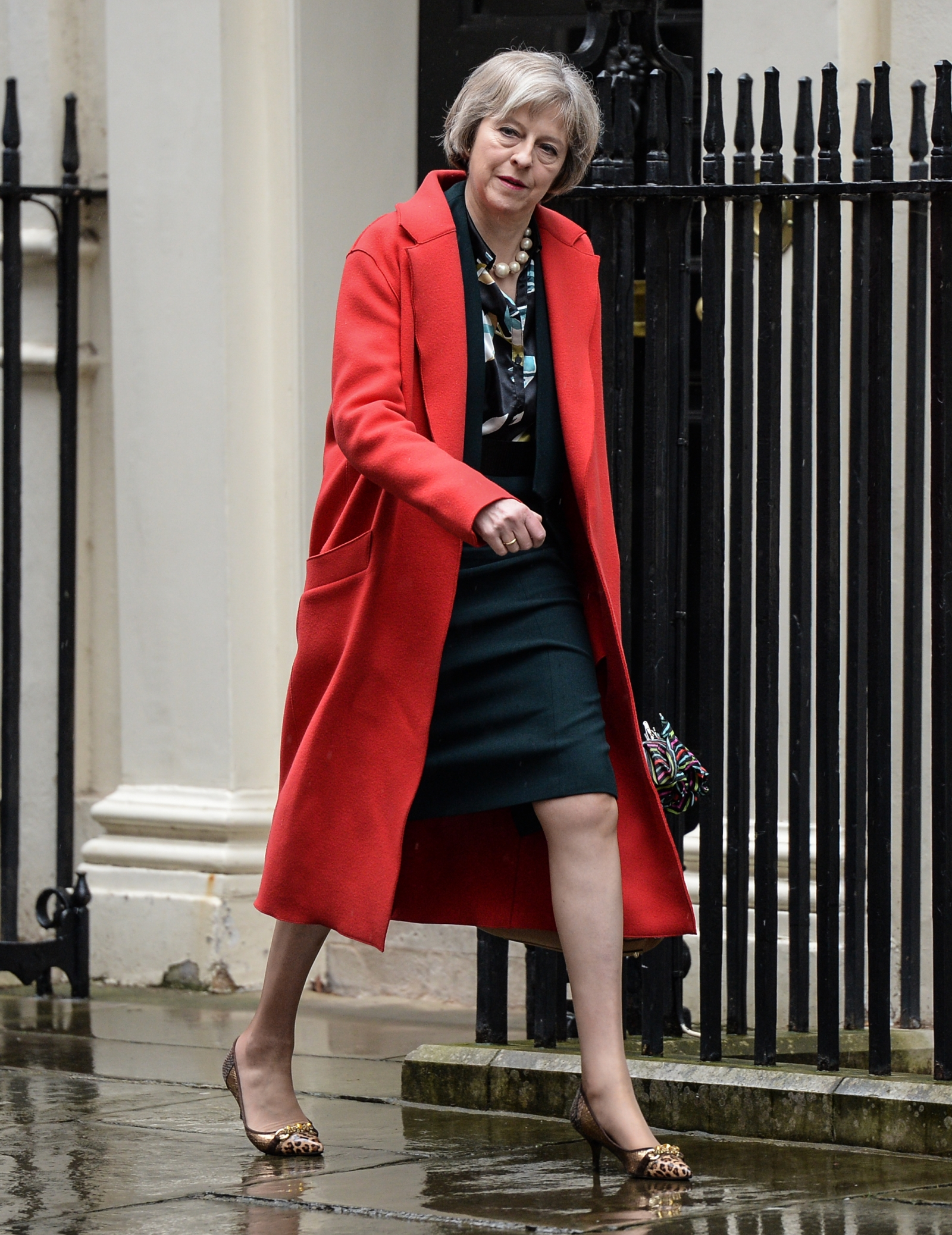 Theresa may 39 s shoes are a political power move for Fashion for home uk