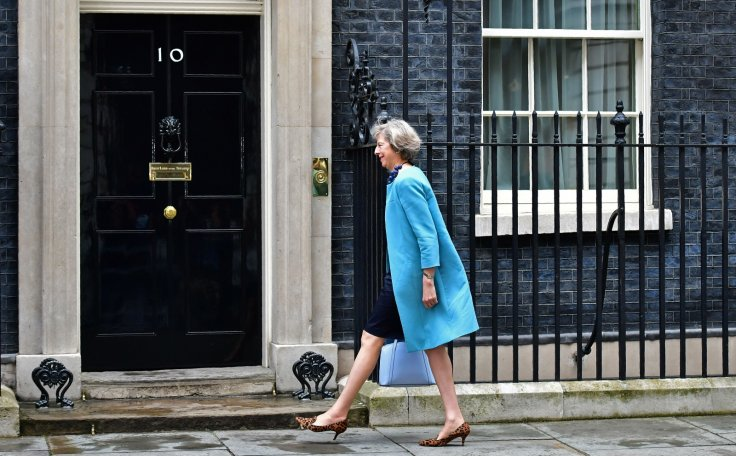 Theresa May shoes
