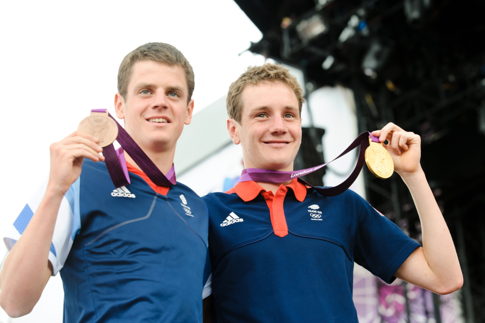 Jonathan Brownlee and Alistair Brownlee
