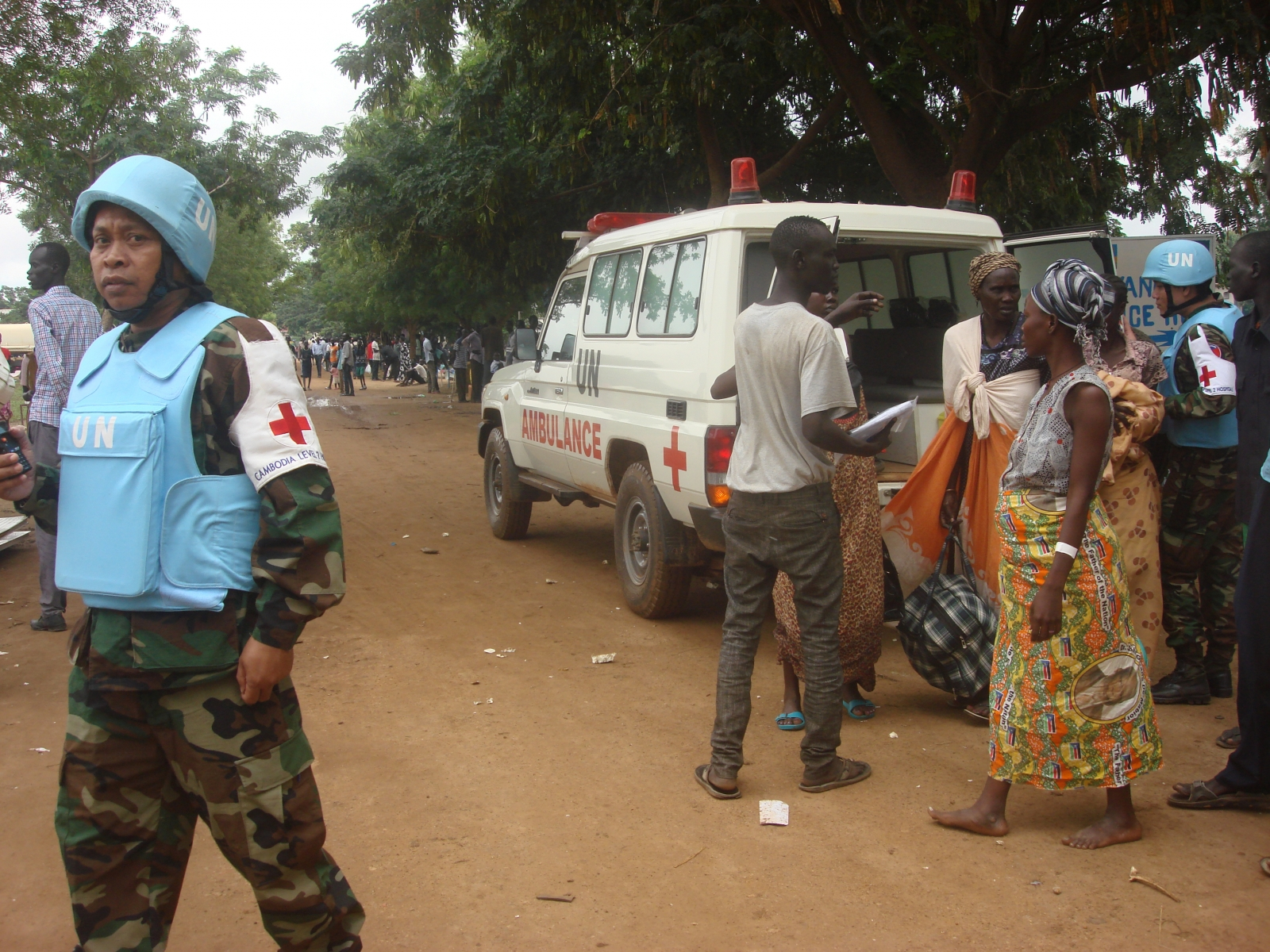 Aid workers flee South Sudan's capital Juba