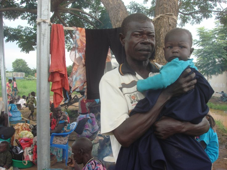 South Sudanese displaced by recent fighting