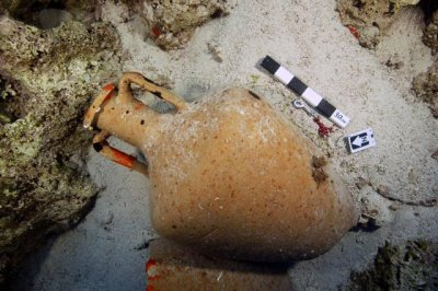 Aegean Sea shipwreck graveyard