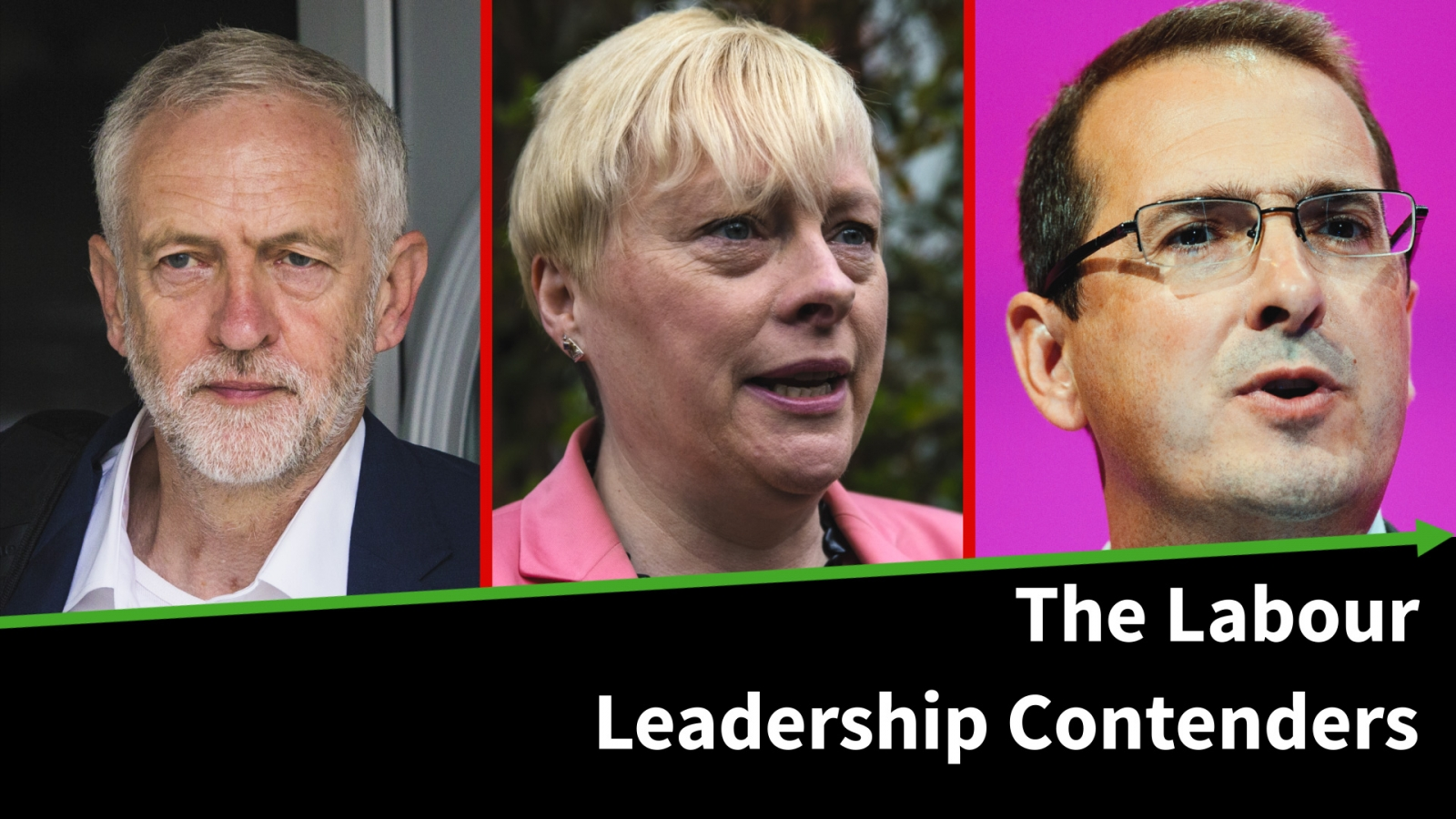 Who are the MPs fighting for the leadership of the Labour Party?