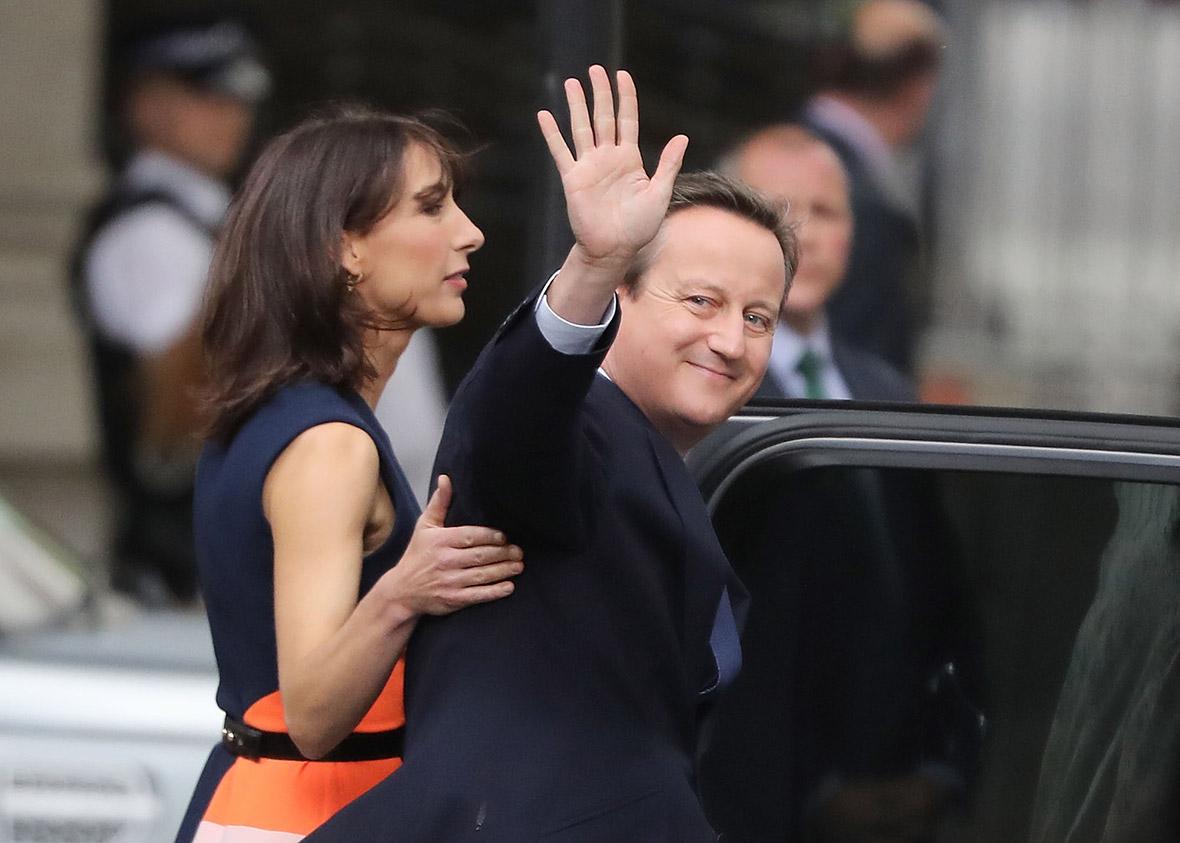 David Cameron Theresa May