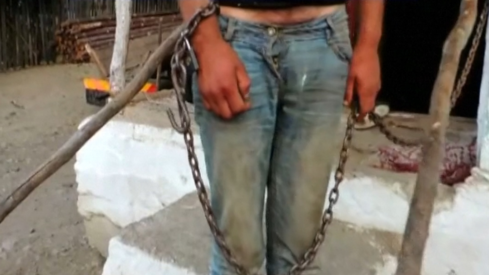 Slaves rescued from human trafficking ring