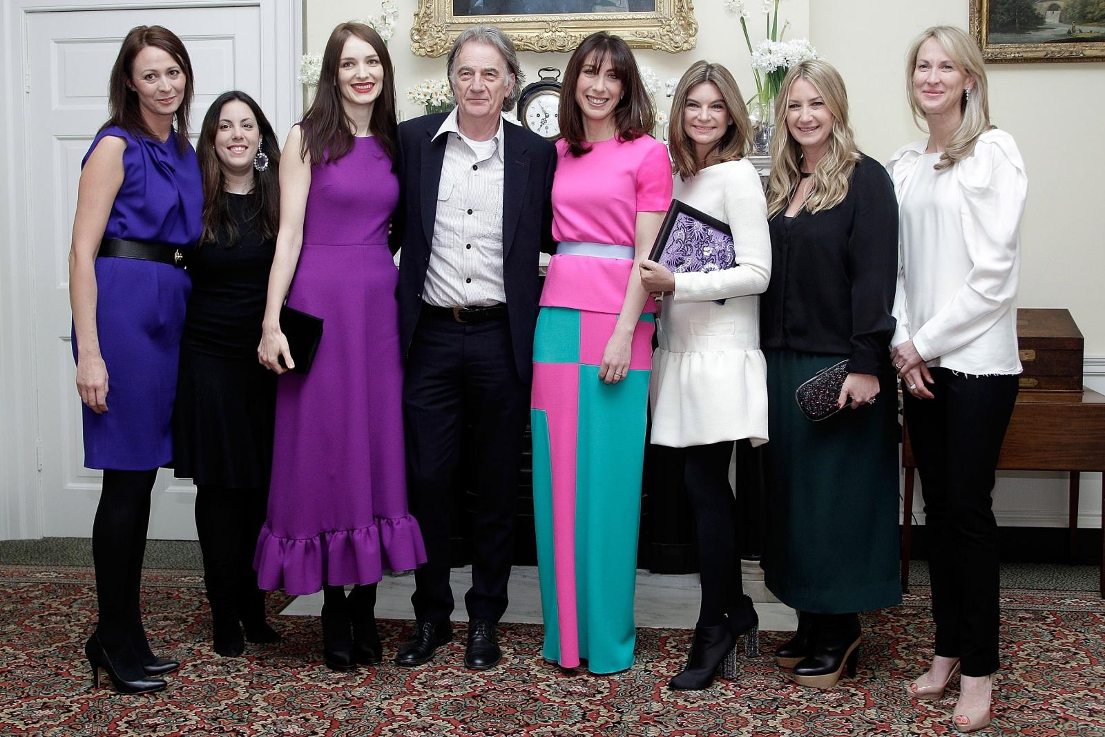 Samantha Cameron leaves Downing Street in Roksanda