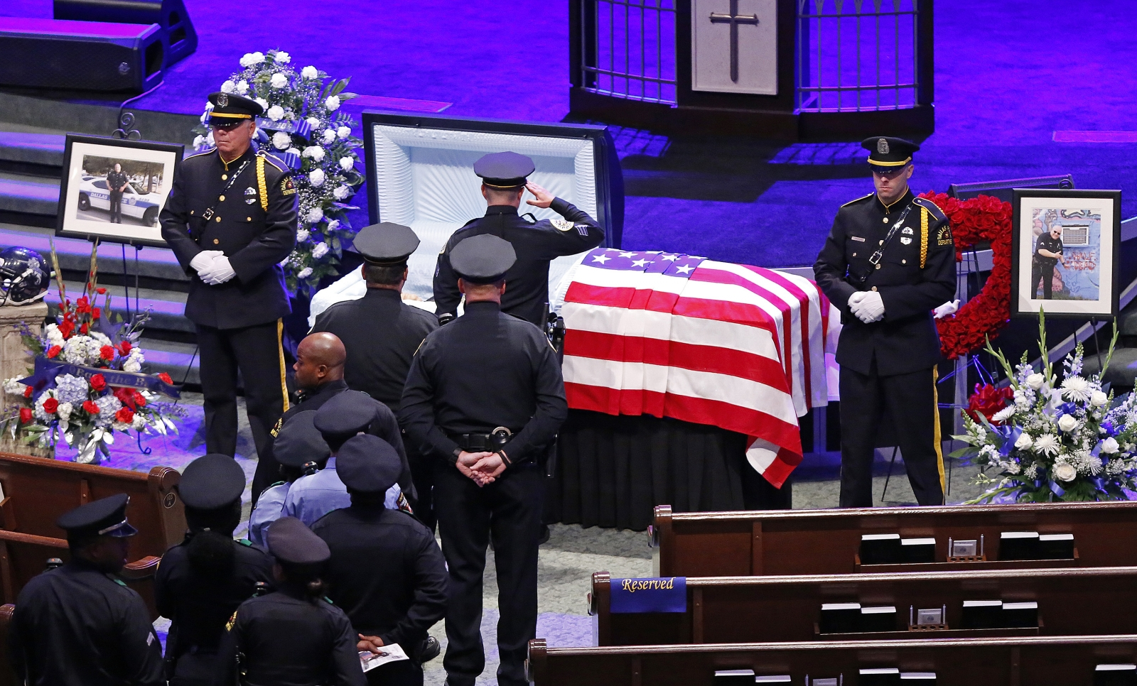 Dallas officer funeral