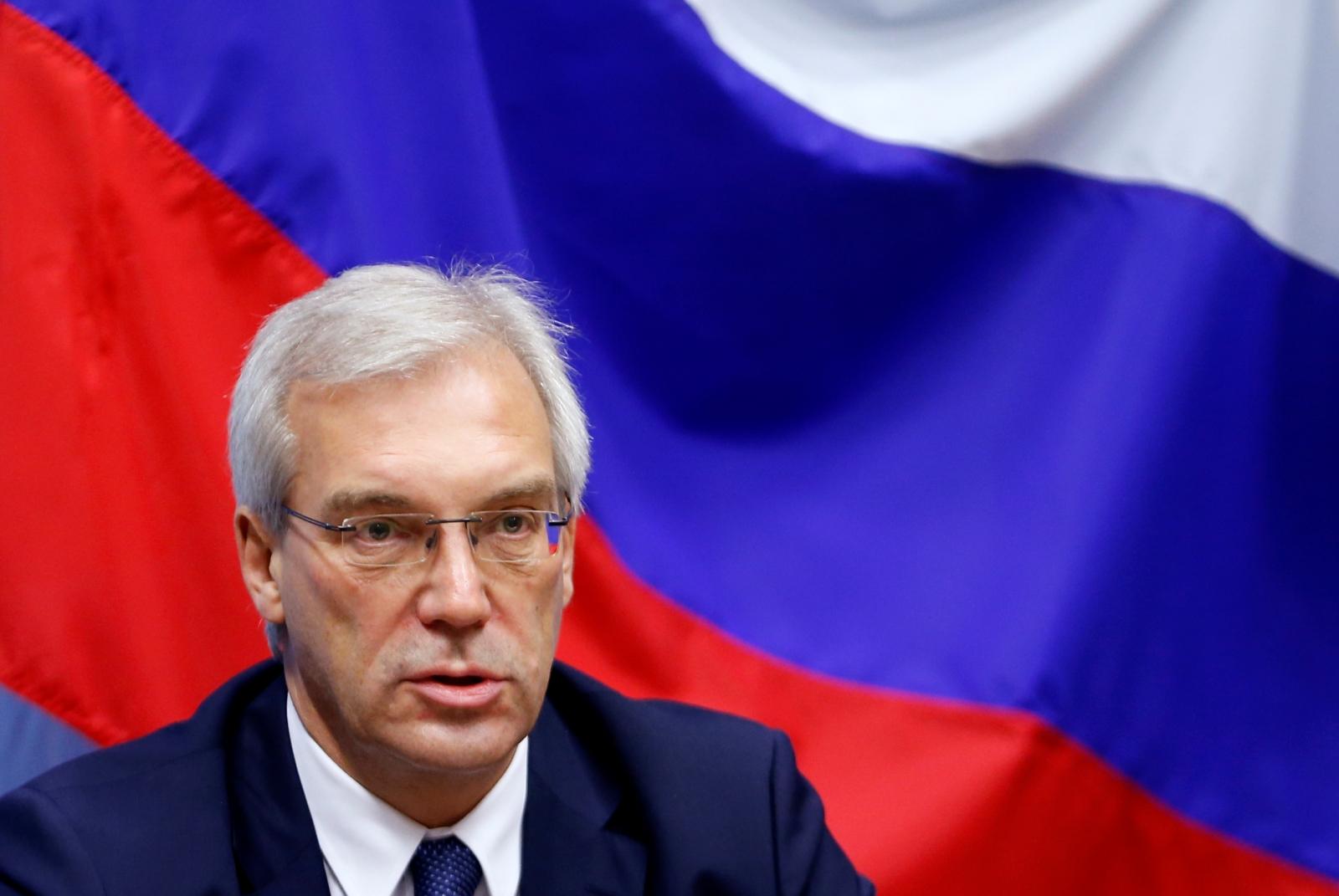 Russian ambassador Alexander Grushko