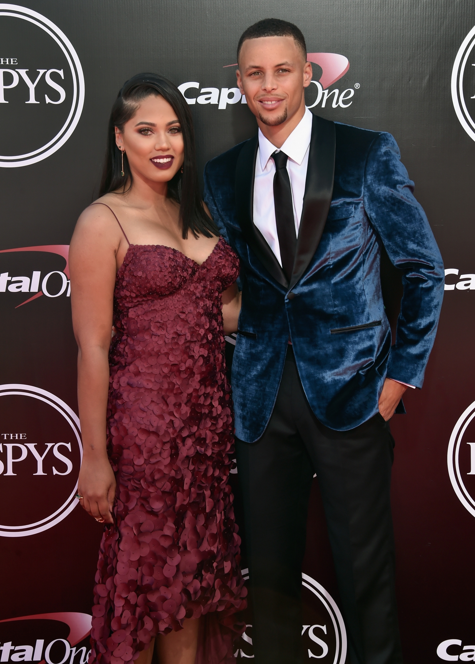 Stephen Curry and Ayesha