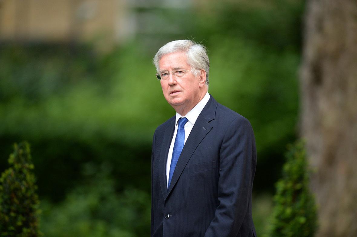 Cabinet Michael Fallon