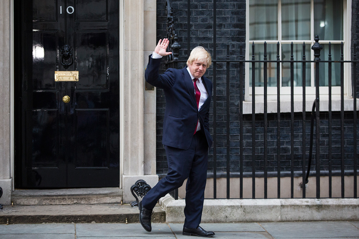 Cabinet: Boris Johnson
