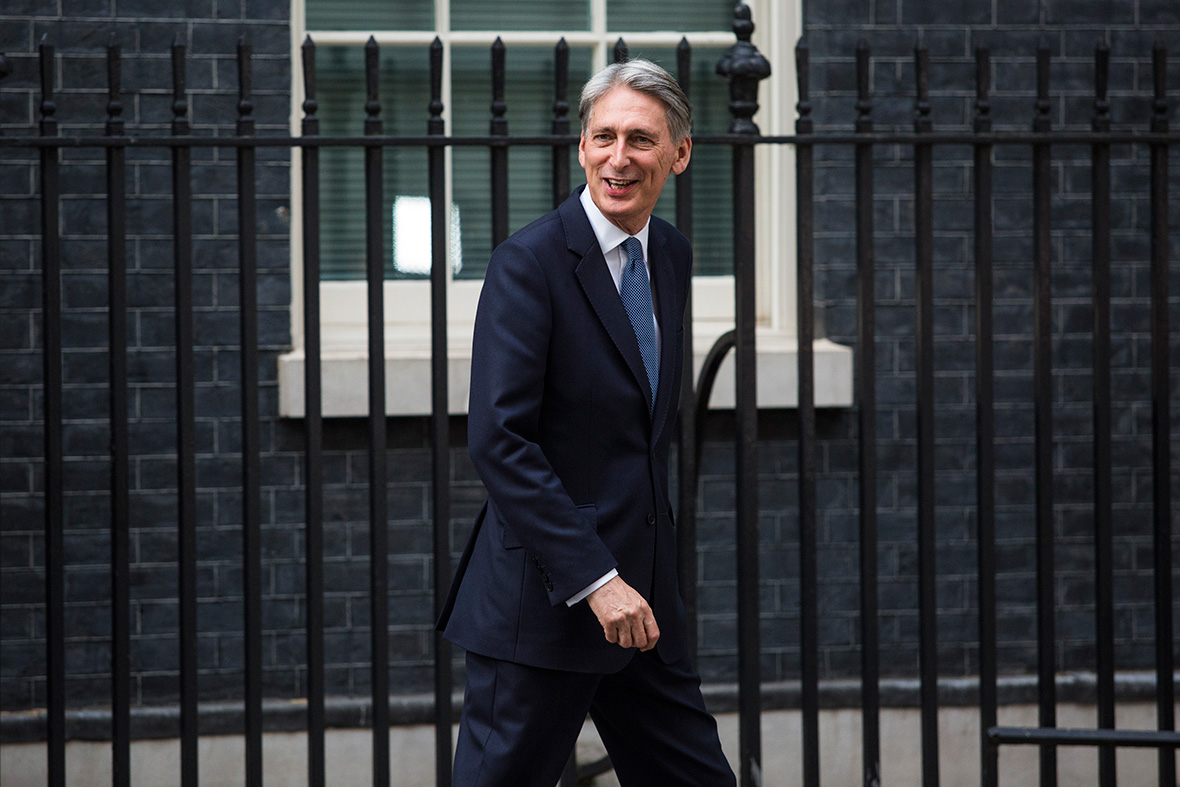 Cabinet: Philip Hammond