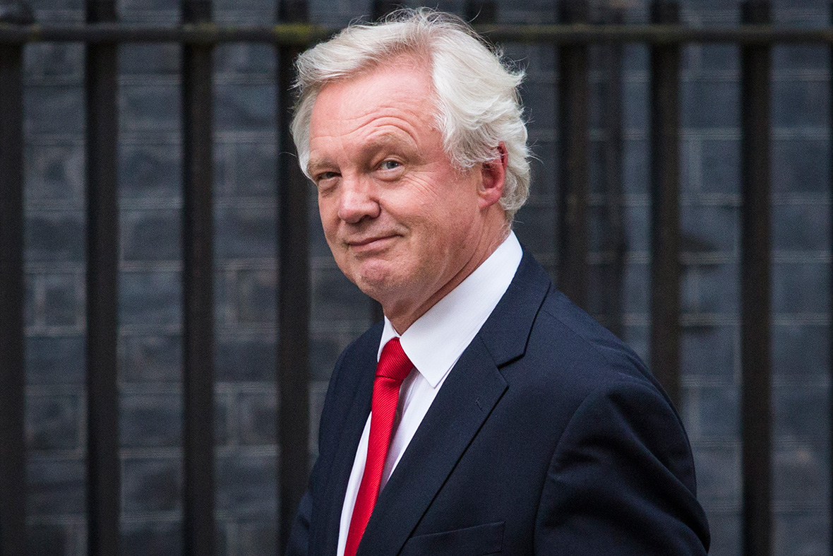 Cabinet: David Davis