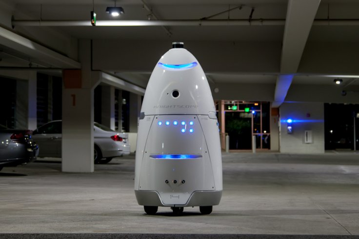 Knightscope K5 security robot