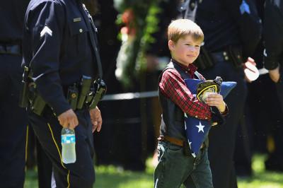 Dallas police funerals