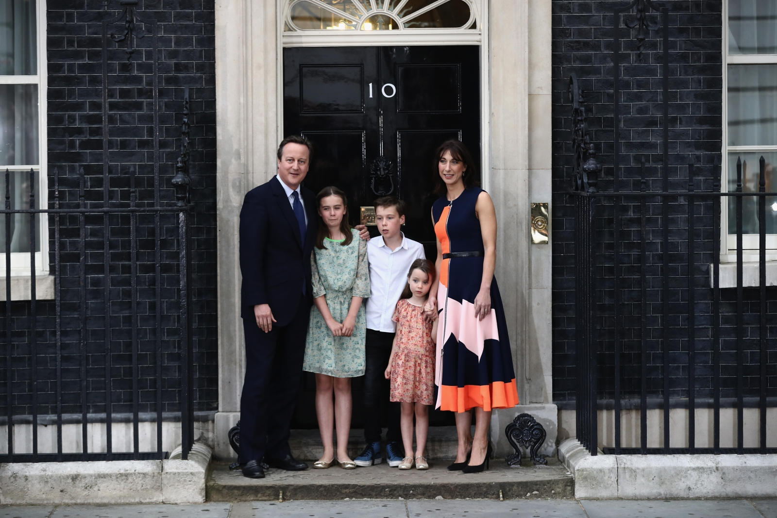 David Cameron's last day