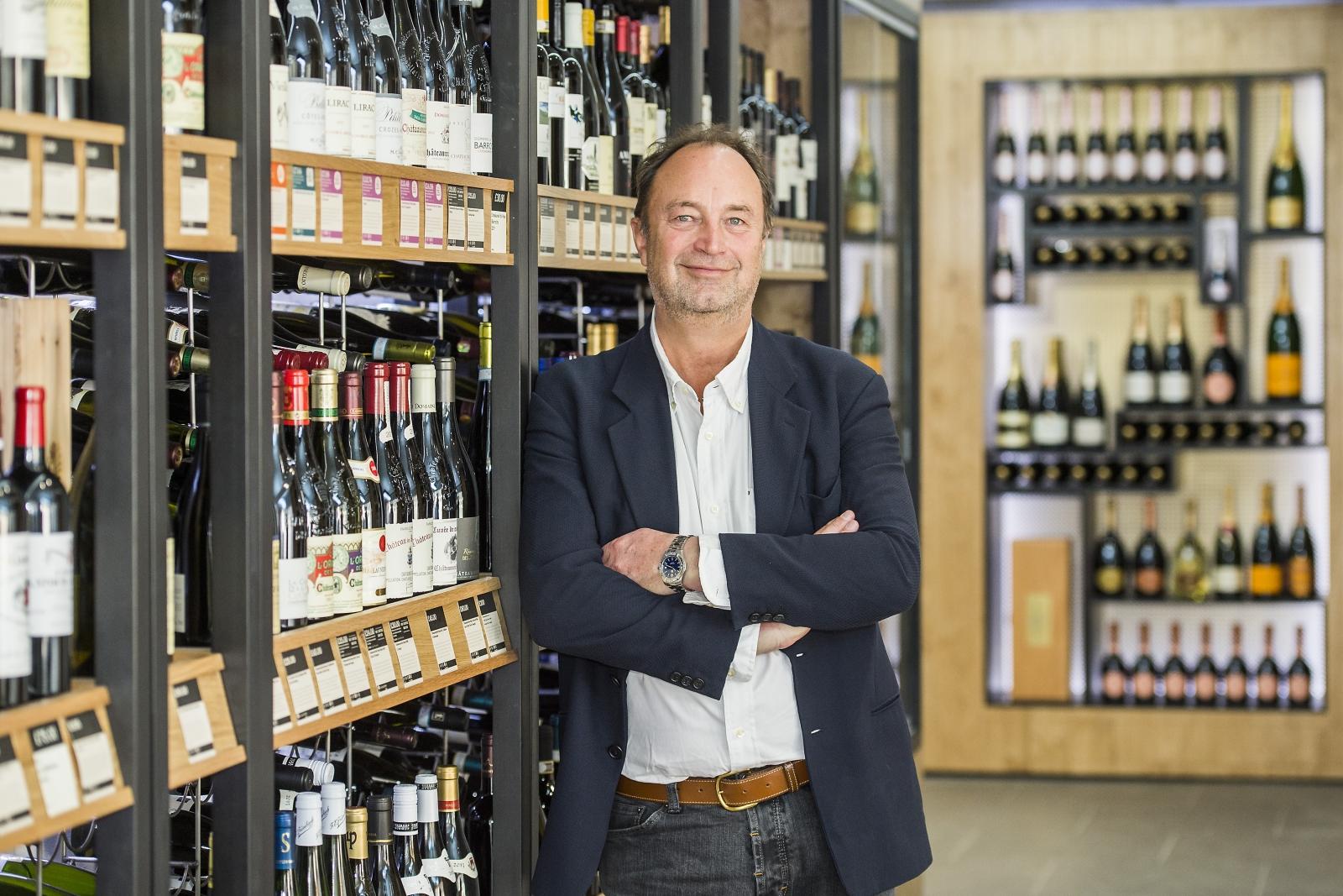 Rowan Gormley CEO Majestic Wine