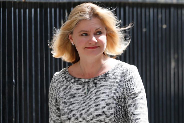Cabinet: Justine Greening