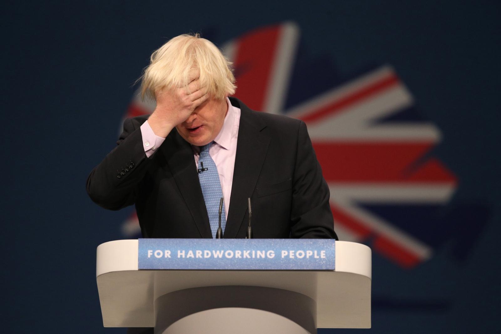 Boris Johnson Foreign Secretary