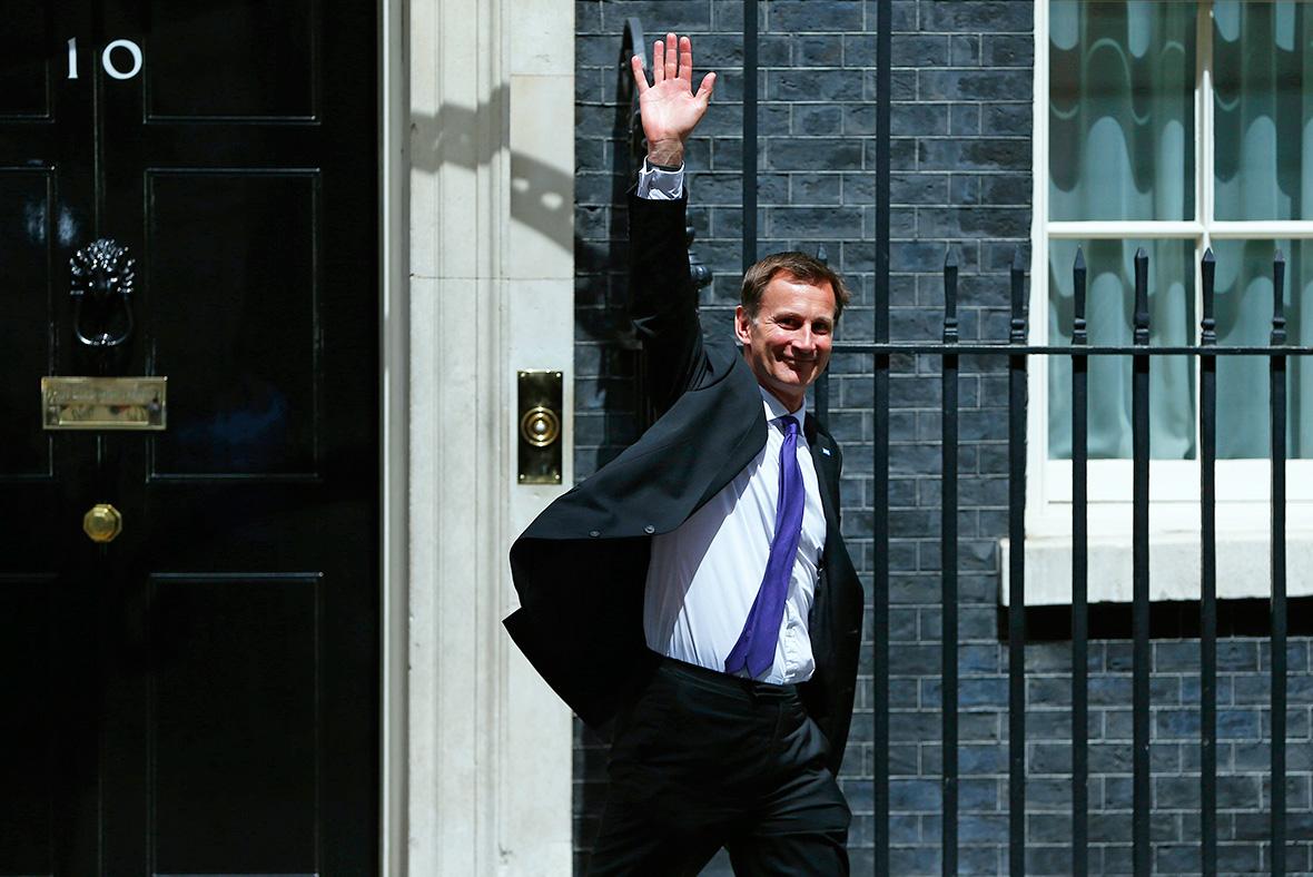 Cabinet: Jeremy Hunt
