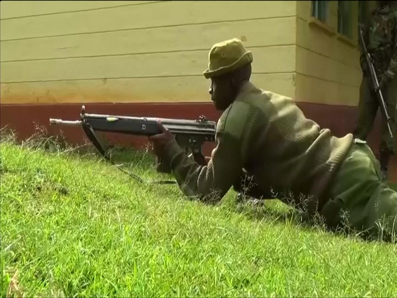 Kenyan police shot dead