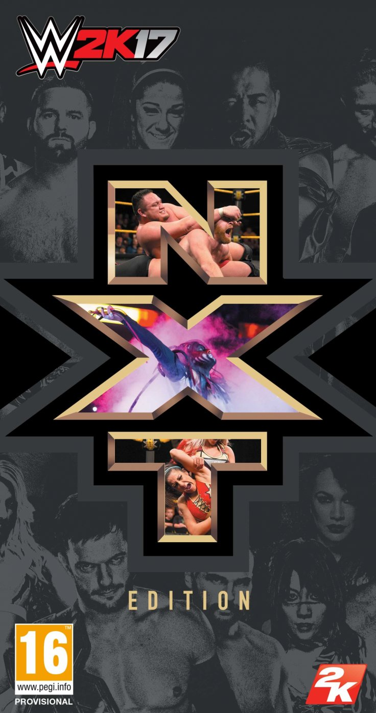 WWE 2K17 NXT Edition Box Art